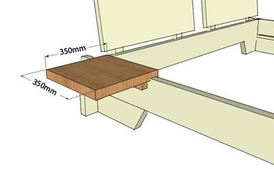 schreinerei markert bett nina. Black Bedroom Furniture Sets. Home Design Ideas